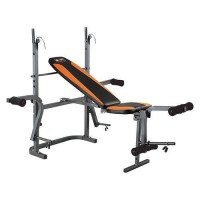 Скамья со стойками Body Sculpture BW-2810 H до 220кг - Интернет-магазин товаров для спорта, туризма и отдыха Спорт 96, Кострома